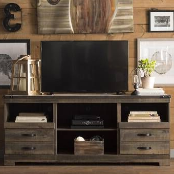 """Well Known Collier Tv Stand For Tvs Up To 60"""" (avec Images) Intended For Whittier Tv Stands For Tvs Up To 60"""" (View 12 of 30)"""