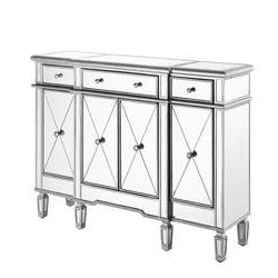 """Well Known Contempo 60"""" Wide 3 Drawer Sideboard In  (View 6 of 30)"""