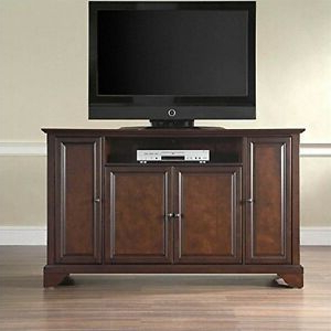 """Well Known Crosley Furniturecrosley Furniture Lafayette 60 Inch Tv Inside Miah Tv Stands For Tvs Up To 60"""" (View 7 of 30)"""