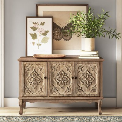 """Featured Photo of Claire 70"""" Wide Acacia Wood Sideboards"""