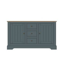 """Well Known Ismay 56"""" Wide 3 Drawer Sideboards Intended For 2 Door 3 Drawer Sideboard (View 23 of 30)"""