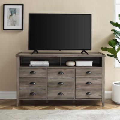 """Well Known Labarbera Tv Stands For Tvs Up To 58"""" Within Gracie Oaks Dossantos Tv Stand For Tvs Up To 58"""" & Reviews (View 21 of 30)"""
