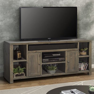 """Well Known Lorraine Tv Stands For Tvs Up To 70"""" Intended For 70 Inch And Larger Rustic Tv Stands You'll Love In (View 2 of 30)"""