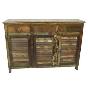 """Well Known Maeva 60"""" 3 Drawer Sideboards Inside 60"""" W Rhode Buffet 3 Drawer 3 Door Removable Shelves (View 6 of 30)"""