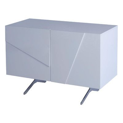 """Well Known Orianne 55"""" Wide 2 Drawer Sideboards Throughout Glacier 2 Door Sideboard (View 27 of 30)"""