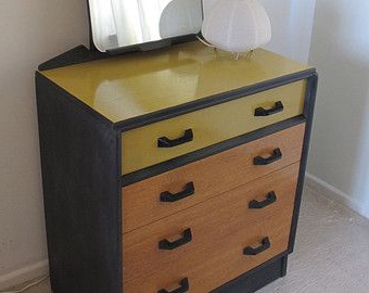 Well Known Sale ~ Upcycled G Plan Dressing Table Chest Of Drawers Inside Blissa Sideboards (View 5 of 8)