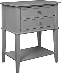 """Well Known Slattery 52"""" Wide 2 Drawer Buffet Tables For Amazon: Ameriwood Home Franklin Accent Table With (View 29 of 30)"""