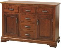 Well Known Solid Wood Buffets & Servers & Sideboards – Countryside Inside Wales Storage Sideboards (View 9 of 30)