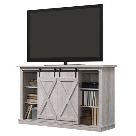 """Well Known Twin Star Home Terryville Barn Door Tv Stand For Tvs Up To Within Herington Tv Stands For Tvs Up To 60"""" (View 26 of 30)"""