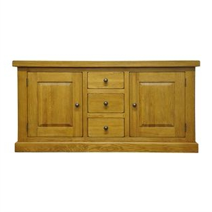 Well Known Wilton Oak Large Sideboard With Drawers (View 7 of 30)