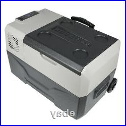 Well Liked 30l Portable Fridge/freezer 12/24v Dc Car Compact Cooler For Richawara Concise Buffet Tables (View 13 of 30)