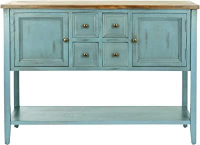 Well Liked Amazon – King's Brand Wood Console Sideboard Table With Ebenezer  (View 19 of 30)