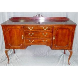 """Well Liked Blade 55"""" Wide Sideboards Throughout A 1940's Buffet. Height 103 Cm. Width 150 Cm (View 6 of 24)"""