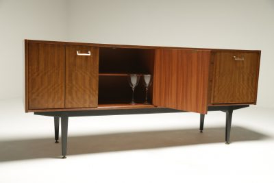 """Well Liked Ellison 76"""" Wide Sideboards Intended For Tola Wood & Brass Sideboardnathan. Librenza Style (View 5 of 30)"""