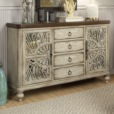 """Well Liked Mirrored Sideboard & Buffet Tables You'll Love In 2020 Throughout Dostie 48"""" Wide Buffet Tables (View 9 of 30)"""