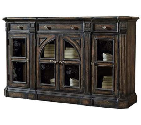 "Well Liked Miruna 63"" Wide Wood Sideboards In Delmar 4 Door Walnut Sideboard (View 11 of 30)"