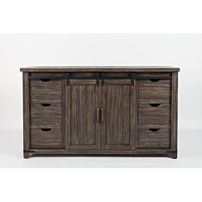 """Well Liked Myndi 60"""" Wide Sideboards Pertaining To Brown & Natural Sideboards & Buffets You'll Love In  (View 12 of 30)"""