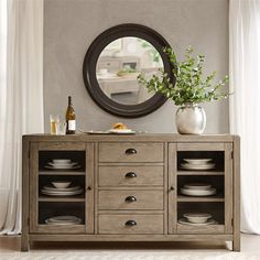 """Well Liked Nahant 36"""" Wide 4 Drawer Sideboards Throughout 13 Best Wooden Sideboard Images In (View 18 of 30)"""