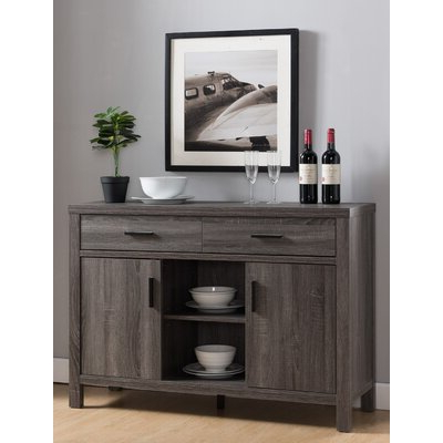 """Well Liked Pandora 42"""" Wide 2 Drawer Servers Throughout Sideboards & Buffet Tables (View 6 of 30)"""