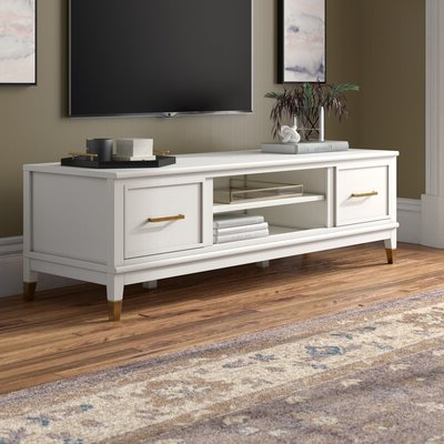 Well Liked White Tv Stands (View 10 of 30)