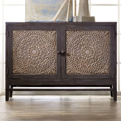 """Westhoff 60"""" Wide 6 Drawer Pine Wood Credenzas Throughout Latest 54 Inch Buffet (View 28 of 30)"""