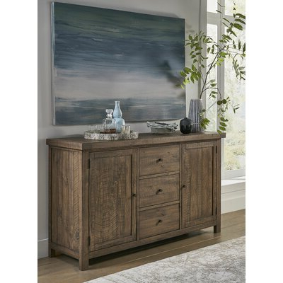 """Westhoff 70"""" Wide 6 Drawer Pine Wood Sideboards Regarding Well Known Grey & White Sideboards & Buffets You'll Love In  (View 5 of 30)"""