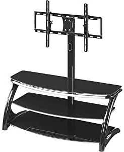 """Whalen Furniture – 3 In 1 Tv Stand For Flat Panel Tvs Up Throughout Most Recent Mainor Tv Stands For Tvs Up To 70"""" (View 27 of 30)"""