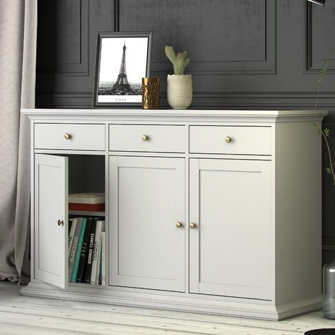 White Sideboard (View 2 of 30)