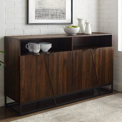 """Wide With Tabernash 55"""" Wood Buffet Tables (View 6 of 30)"""