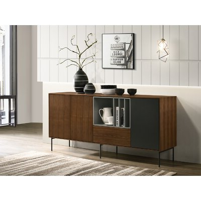 """Widely Used 64"""" Wide Rubberwood Sideboards For Sideboards & Buffet Tables You'll Love In  (View 30 of 30)"""