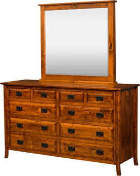 """Widely Used Francisca 40"""" Wide Maple Wood Sideboards Within Jaxon 10 Drawer Dresser (View 20 of 30)"""