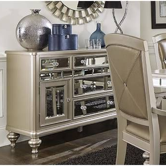 """Widely Used Grieg 42"""" Wide Sideboards Pertaining To Contempo 60"""" Wide 3 Drawer Sideboard In  (View 30 of 30)"""