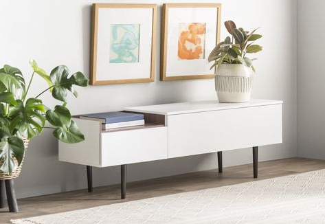 """Widely Used Islesboro 58"""" Wide Sideboards For Dovray 58"""" Wide 2 Drawer Sideboard (with Images (View 10 of 30)"""