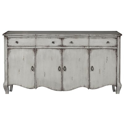 """Widely Used Kelly Clarkson Home Hahn 60"""" Wide 2 Drawer Credenza Within Eskew 60"""" Wide Sideboards (View 19 of 30)"""