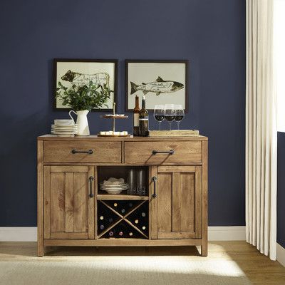 """Widely Used Milena 52"""" Wide 2 Drawer Sideboards Inside Avenal 52"""" Wide 2 Drawer Sideboard (View 5 of 30)"""