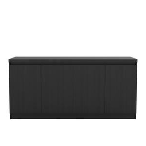"""Widely Used Neuhaus 70.86"""" Wide 1 Drawer Sideboards With Vanderbilt Black Gloss & Black Matte Tv Stand & (View 21 of 30)"""
