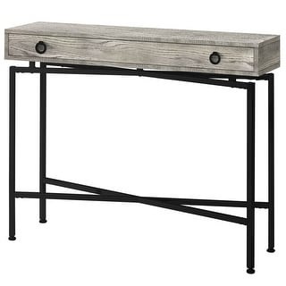 """Widely Used Shop Offex 42""""l Contemporary Grey Reclaimed Wood Look Regarding Nahant 36"""" Wide 4 Drawer Sideboards (View 27 of 30)"""