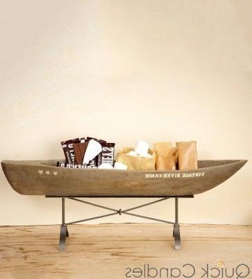 Wood Canoe (View 30 of 30)