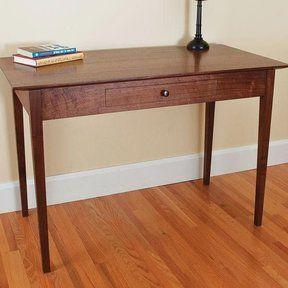 Woodcraft Magazine – Shaker Side Table – Downloadable Plan Regarding Preferred Pitzer  (View 6 of 7)