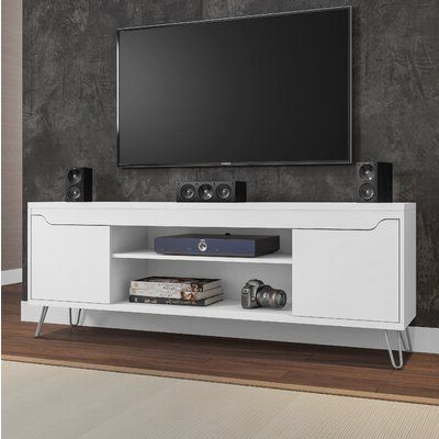 """Wrought Studio Kerby Tv Stand For Tvs Up To 70 Inches Intended For Favorite Mainor Tv Stands For Tvs Up To 70"""" (View 25 of 30)"""