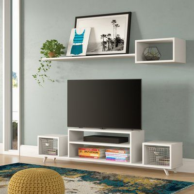 """Wrought Studio Mosquera Tv Stand For Tvs Up To 70 Inside Most Popular Lorraine Tv Stands For Tvs Up To 70"""" (View 4 of 30)"""
