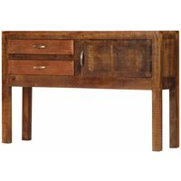"""Zinaida 59"""" Wide Mango Wood Buffet Tables Intended For Newest Side Tables (View 3 of 30)"""