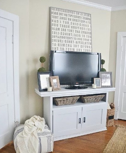 2017 60 Best Diy Tv Stand Ideas For Your Room Interior Throughout 57'' Tv Stands With Led Lights Modern Entertainment Center (View 10 of 10)