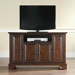 """2017 Corner Tv Stands For Tvs Up To 48"""" Mahogany Inside Crosley Furniturecrosley Furniture Lafayette 48 Inch Tv (View 1 of 10)"""