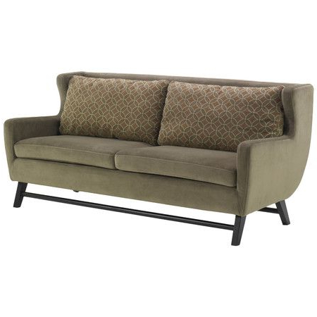 2017 I Pinned This Armen Living Urbanity Midtown Sofa From The Intended For Hugo Chenille Upholstered Storage Sectional Futon Sofas (View 7 of 10)