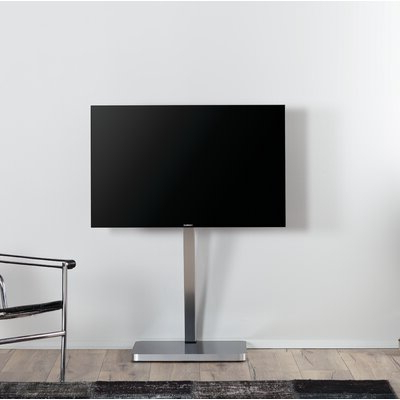2017 Randal Symple Stuff Black Swivel Floor Tv Stands With Shelving Pertaining To Symple Stuff Minimalist Cantilever Glass And Aluminium (View 8 of 10)