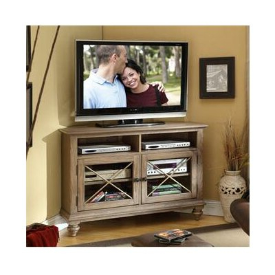 2017 Riverside Furniture Coventry Corner Tv Stand & Reviews Pertaining To Conrad Metal/glass Corner Tv Stands (View 3 of 10)