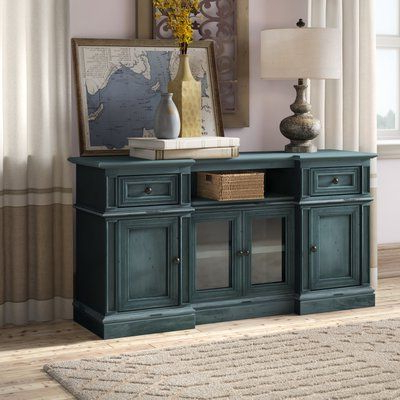 """2018 Ansel Tv Stands For Tvs Up To 78"""" Intended For Birch Lane™ Heritage Albertyne Solid Wood Tv Stand For Tvs (View 6 of 10)"""