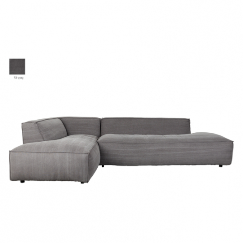 2018 Dulce Right Sectional Sofas Twill Stone Regarding Sofa Fat Freddy Right Stone Grey 67 3200089 Zuiver (View 1 of 10)