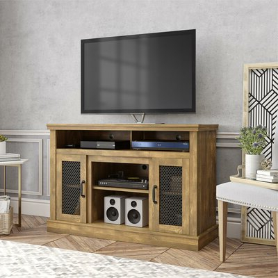 """2018 Neilsen Tv Stands For Tvs Up To 50"""" With Fireplace Included Inside Beige Fireplace Tv Stands & Entertainment Centers You'll (View 6 of 10)"""